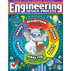 Stem Engineer Design Process Chart, TCR7531