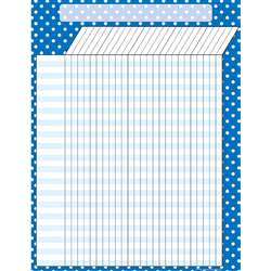 Blue Polka Dots Incentive Chart By Teacher Created Resources