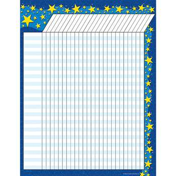 Starry Night Incentive Chart By Teacher Created Resources