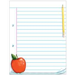 Notepad Paper Chart By Teacher Created Resources