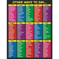 Other Ways To Say Chart By Teacher Created Resources