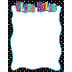 Class Rules Chart By Teacher Created Resources