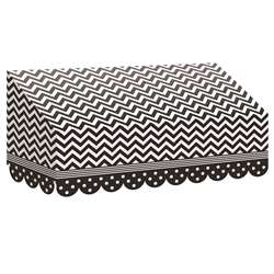 Black & White Chevrons And Dots Awning, TCR77164