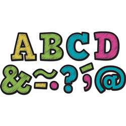 "Chalkboard Brights Bold Block 2"" Magnetic Letters, TCR77190"