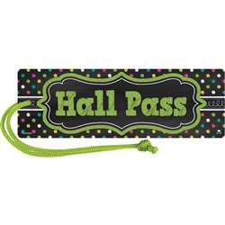 Chalkboard Brights Magnetic Hall Pass, TCR77276