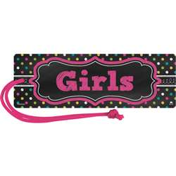 Chalkboard Brights Magnetic Girls Pass, TCR77277