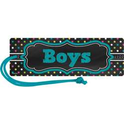 Chalkboard Brights Magnetic Boys Pass, TCR77278