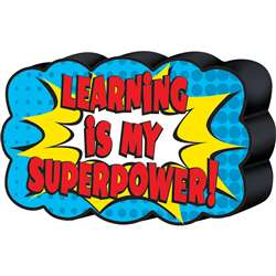 Superhero Magnetic Whiteboard Eraser, TCR77288