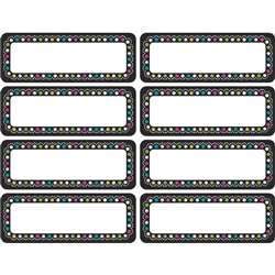 Chalkboard Brights Mini Labels Clingy Thingies, TCR77319