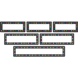 Chalkboard Brights Labels Clingy Thingies, TCR77321