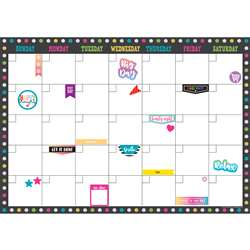 Clingy Thingies Calendar Set Chalkboard Brights, TCR77349