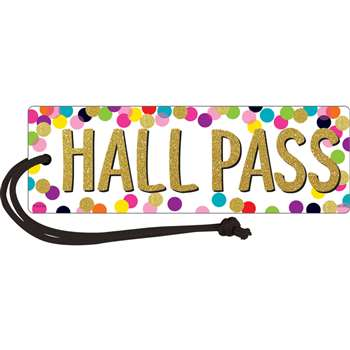 Confetti Magnetic Hall Pass, TCR77394