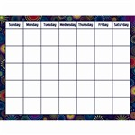 Shop Fireworks Calendar Chart - Tcr7789 By Teacher Created Resources