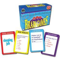 200 Brain Games Game By Teacher Created Resources