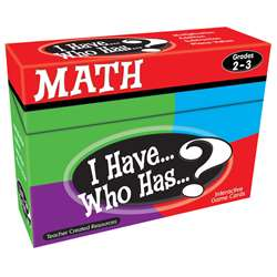 I Have Who Has Math Games Gr 2-3 By Teacher Created Resources