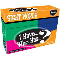 I Have Who Has Gr 1 Sight Words Games, TCR7869