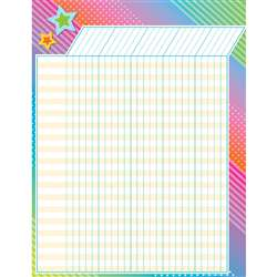 Colorful Vibes Incentive Charts, TCR7935