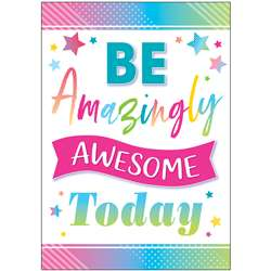 Be Amazingly Awesome Posters Colorful Vibes, TCR7938