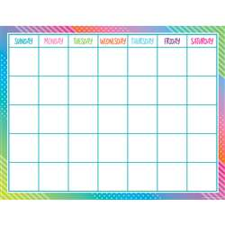 Colorful Vibes Calendar Chart, TCR7942