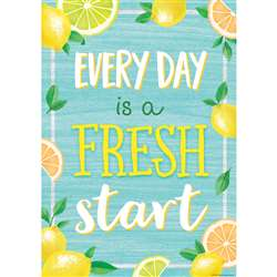 Every Day Is A Fresh Start Positive Poster, TCR7958