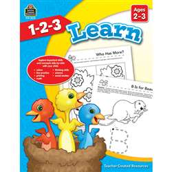 1 2 3 Learn Age 2-3, TCR8001