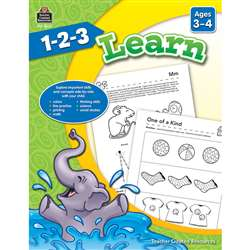 1 2 3 Learn Age 3-4, TCR8002
