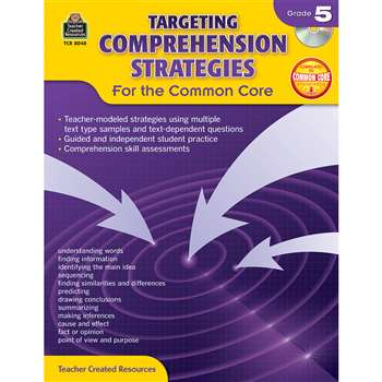 Gr 5 Targeting Comprehension Strategies For The Co, TCR8048