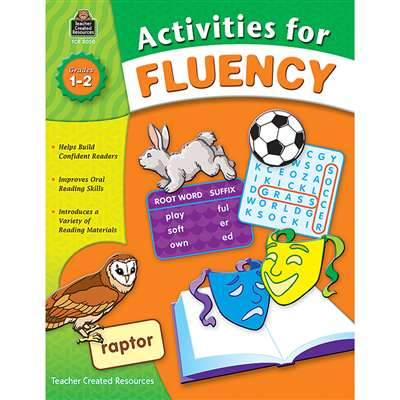 Activities For Fluency Gr 1-2 By Teacher Created Resources