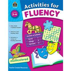 Activities For Fluency Gr 3-4 By Teacher Created Resources