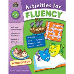 Activities For Fluency Gr 5-6 By Teacher Created Resources