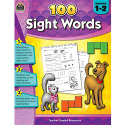 100 Sight Words Gr 1-2, TCR8059
