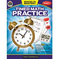 Minutes To Mastery Timed Math Gr 1 Practice, TCR8079