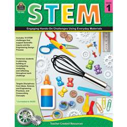 Stem Using Everyday Materials Gr 1 Engaging Hands-, TCR8181