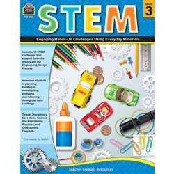 Stem Using Everyday Materials Gr 3 Engaging Hands-, TCR8183