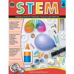 Stem Using Everyday Materials Gr 4 Engaging Hands-, TCR8184