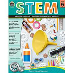 Stem Using Everyday Materials Gr 5 Engaging Hands-, TCR8185