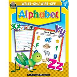 Write-On/Wipe-Off Alphabet, TCR8213