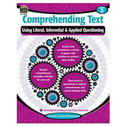 Comprehending Text Gr 3, TCR8240