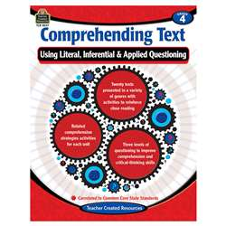 Comprehending Text Gr 4, TCR8247