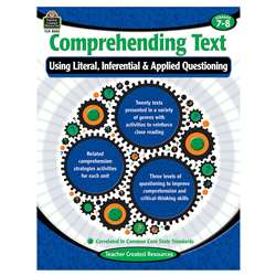 Comprehending Text Gr 7-8, TCR8250