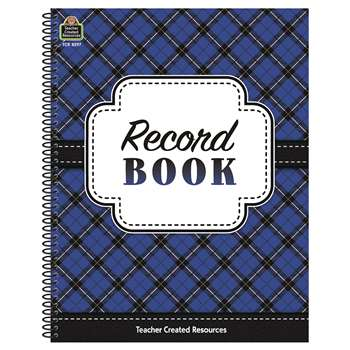 Plaid Record Book, TCR8297