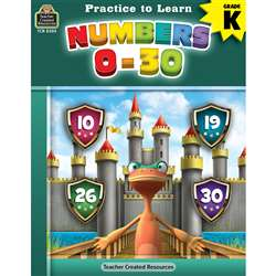 Practice To Learn Numbers 0-30, TCR8305