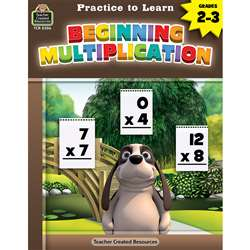 Prac To Learn Begin Multiplication, TCR8306