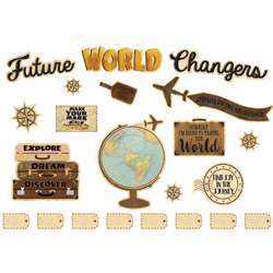 Future World Changers Bulletin Board St Travel The, TCR8623