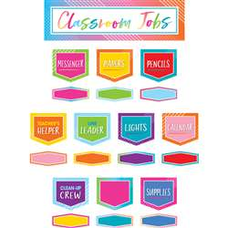 Classroom Jobs Mini Bulletin Board St Colorful Vib, TCR8756
