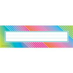 Colorful Vibes Name Plates, TCR8782