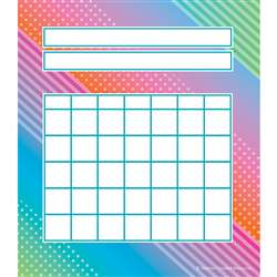 Colorful Vibes Incentive Charts, TCR8784