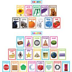 Colorful Photo Shapes & Colrs Bulletin Board St, TCR8799