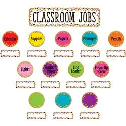 Confetti Classroom Jobs Mini Bulletin Board St, TCR8802