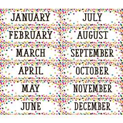 Confetti Monthly Headliners, TCR8803
